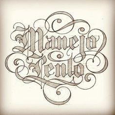 Typeverything.com Manejo Lento by Matthew Tapia. via Daniel...
