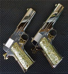 You're not bulletproof..., Twins A pair of sequentially numbered Colt 1911′s...