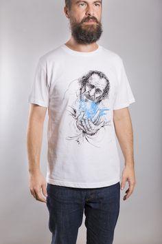 Bukowski T-Shirt Man White