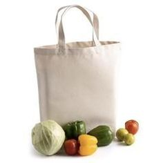 89b5ac27f034 100% Cotton Natural Deluxe Tote Bag with Gusset - Set of 12-PromosDepot
