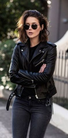 Love this jacket! I don't own any black jeans but would love to try some.