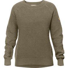 Fjallraven - Sormland Roundneck Sweater - Women's - Taupe