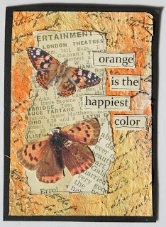 Paperlicious Designs: 3 Mixed Media Background Tutorials / Artist Trading Card