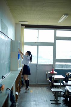((open rp)) Of course it was me who lost the bet. Now I had to prance around in Japanese sailor uniform like the Asian school girl I actually was. It wasn't until someone walked into the classroom that I became embarrassed.