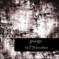 grunge brushes by szuia