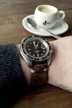 Espresso Danesi & Airin Vintage Diver Watch  (Private Collection)
