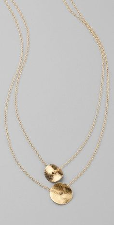If earrings are too busy for my outfit or my neck seems bare, I will always wear my gold Gorjana necklace similar to this one...very girl should own a Gorjana jewelry (simple and beautiful)