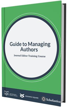 Free Journal Editor Training Course: Guide to Author Management