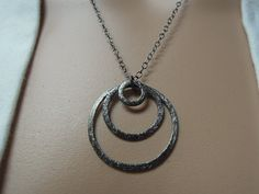 Goddess Style! Brilliant against a gray, white, or black dress....popping against bright blue or red!  Oxidized silver makes a dramatic statement.  #jewelry #silver #necklace #fashion #style #designer #bold