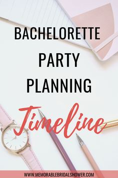 Are you the maid of honor or bridesmaid planning bachelorette party for the bride. This is everything you need to know about bachelorette party planning with a bachelorette party checklist and timeline. Bachelorette Party Checklist, Bachelorette Party Activities, Party Planning Checklist, Bachelorette Party Planning, Bachelorette Party Invitations, Party Games, Shower Invitations, Newlywed Game Questions, Bridal Shower Questions