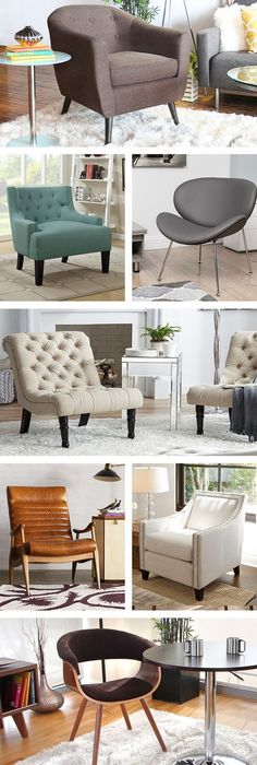 Is your living room missing something? These  accent chairs are the perfect solution for empty corners. Visit AllModern today and sign up for exclusive access to deals on everything you need for your modern home at up to 60% off with free shipping on orders over $49.: