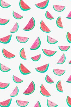 Watermelon pattern - Abby Galloway