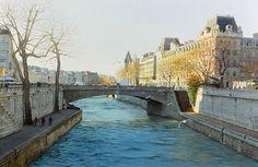 Thierry Duval - private collection. Le petit Pont du grand Paris (2014)