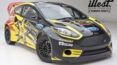 Tanner Foust logra la victoria en la primera prueba del RallyCross Europeo (video)