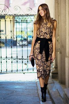 How to Re-Wear Your NYE Dress (Without Anyone Noticing) via @WhoWhatWear