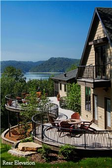 Appalachian Lodge (5 of 5). Winner of the Silver BALA for One-of-a-Kind Home (4,000-6,501 sq.ft.). Architect/Designer/Builder: Tommy W. Thomas. Interior Designer: Deborah Tallent.