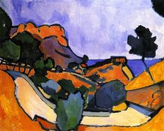 Road in the Mountains Andre Derain - 1907