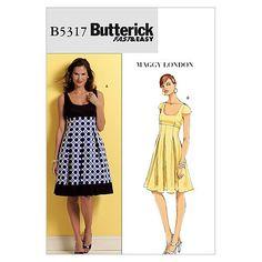 Misses' Dress-BB (8-10-12-14) Pattern at Joann.com