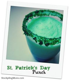 St. Patrick's Day Punch