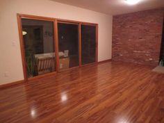 Hampton bayhawaiian koa caramel 8 mm thick x 5 1 2 in wide x 47 7 8 in length laminate - Hampton bay flooring home depot ...
