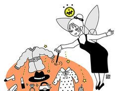 """Check out new work on my @Behance portfolio: """"Fairy of Shopping"""" http://be.net/gallery/46011081/Fairy-of-Shopping"""