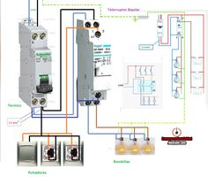 Electrical and Electronics Engineering: Circuit Breaker wiring! Electrical Projects, Electrical Installation, Electrical Wiring Diagram, Electrical Connection, Electronic Engineering, Science And Technology, Life Hacks, Floor Plans, Wire