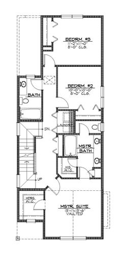6 plex 4 2nd floor apartment house plan ideas for Apartment plans 4 plex