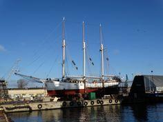 old sailing ship Kapitan Borchardt, photo: J. Old Sailing Ships, Boat, Dinghy, Boats