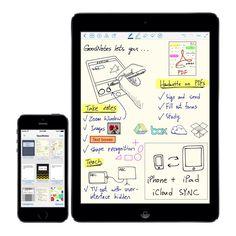 GoodNotes app