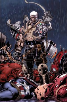 Cable is back from the Dead! Avengers have their butts handed to them!