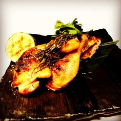 From #NYE2014 menu - Roasted Thai Baby Chicken!  Marinated with kaffir lime leaves, meat is juicy & tender!  It's only available on #NYE14, for query, please email info@cocochan.co.uk! ( ˘ ³˘)♥