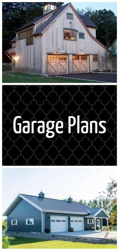 Diy Garage, Garage Plans, Good House, New House Plans, Detached Garage, Wood Plans, Canopies, Fine Woodworking, Present Day