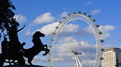 The London Eye.  #London