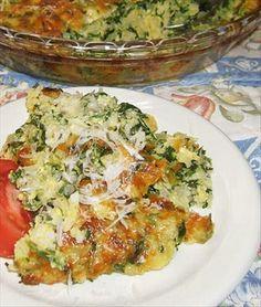 Spinach, Rice & Feta Pie