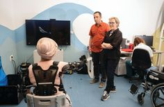 [WEB] BGU's Negev Lab is bringing stroke rehab into the future Artificial Intelligence Algorithms, Technology Infrastructure, Stroke Recovery, Research Lab, Care Hospital, World Problems, Brain Injury, Medical Conditions, Physical Therapy