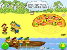 Fractions & smart pirates - Fun Educational Math Game for kids - My Math Forum