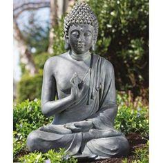 Thai Buddha Garden Statue Beautiful Outdoor Items For Your Garden Or Patio! #outdoors #outdoordecor #design #exteriors #exteriorhomescapes #exteriorhomescapes.com