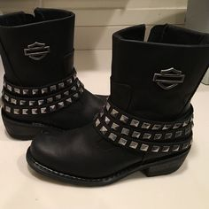finest selection 37b6b 12d5f Harley Davidson Kellyn Boots Brand new without box. Only worn from store to  car Harley