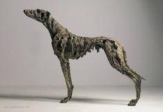 Lurcher, Joseph Paxton, Great Britain. Metal Sculpture.