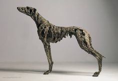 Lurcher, Joseph Paxton, Great Britain. Metal Sculpture.