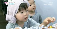 Daehan x Minguk buting rice punch Triplets, Superman, Face, Kids, Punch, Young Children, Boys, The Face, Children