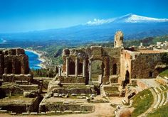 The ancient city of Agrigento, in a famous place called the Valley of the Temples in Sicily.