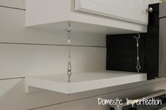 braided cable shelf supports