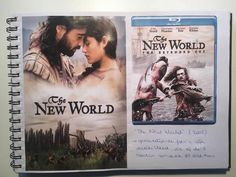 affiche + blue ray: 'The New World' -->contrast