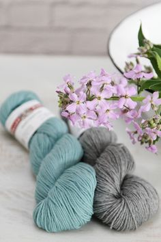 Valley Yarns Huntington is great for socks, or any kind of textured stitch or colorwork project!