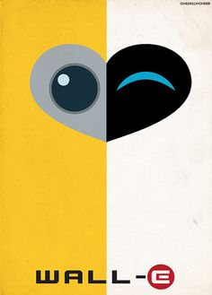 Wall-E Movie Art. Wall-E + Art... Amazing(: