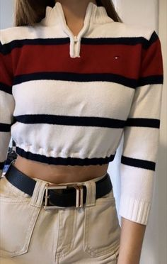 38 trendy crop shirts for this summer 2019 38 Grunge Outfits, Mode Outfits, Retro Outfits, Trendy Outfits, Vintage Outfits, Girl Outfits, Simple Outfits, Summer Outfits, Aesthetic Fashion