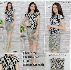 Blouse Batik, Batik Dress, Office Uniform For Women, Batik Kebaya, Sewing Blouses, Batik Fashion, Office Fashion, Fashion Sketches, Traditional Outfits