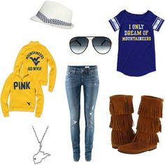 Perfect for WVU Football tailgating this year and my college coach crush! Football Tailgate, Tailgating, College Football, Fall Winter Outfits, Autumn Winter Fashion, Trendy Outfits, Cute Outfits, Low Rise Skinny Jeans, Sporty Style