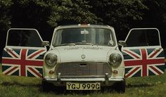 Union Jack car